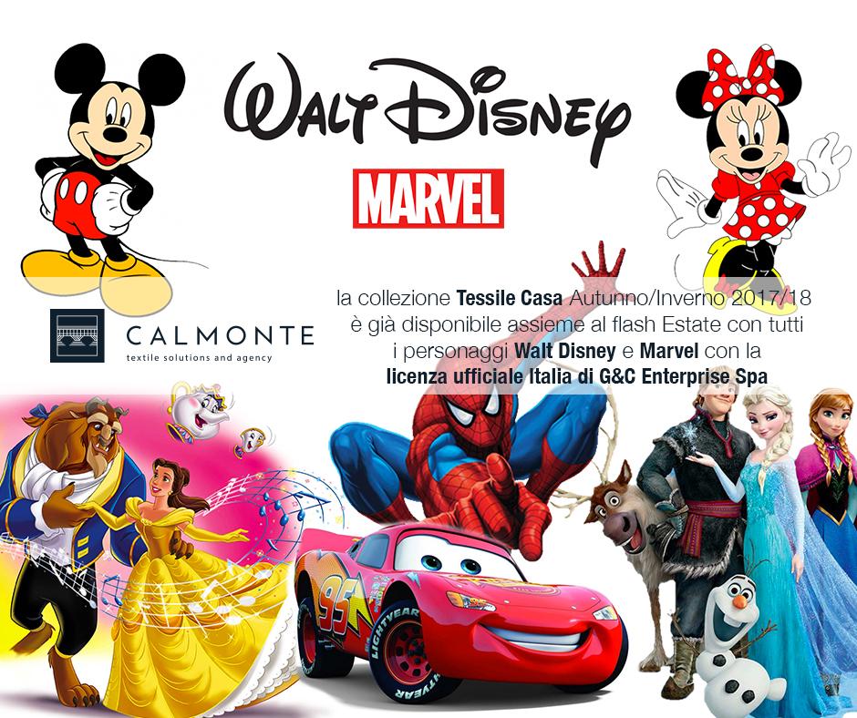 Nuova collaborazione in Triveneto: Walt Disney / Marvel